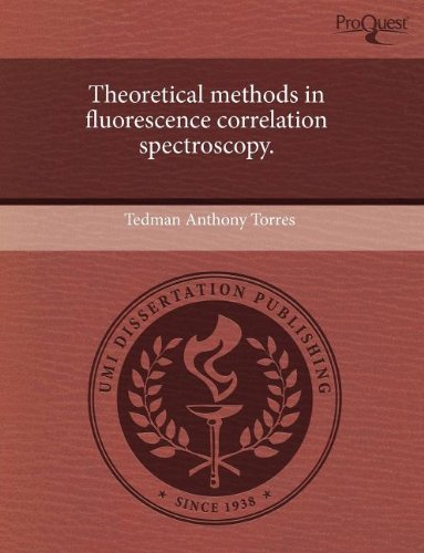 Theoretical Methods in Fluorescence Correlation Spectroscopy.