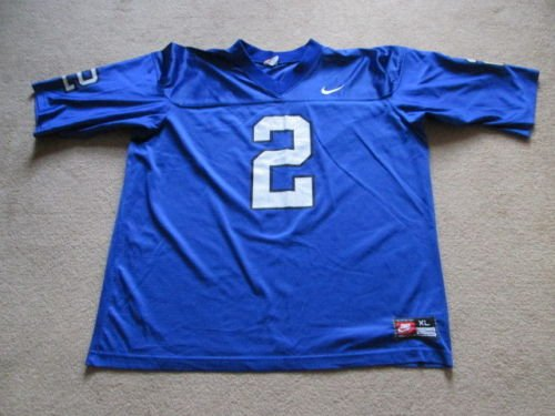 Kentucky Wildcats NCAA American Football Nike Jersey - #2 Mens Extra Large