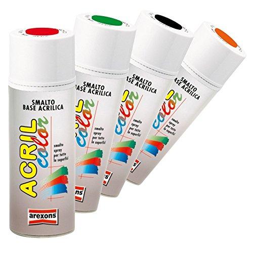 smalto-acrilico-spray-arexons-bianco-opaco-pz-6-arexons