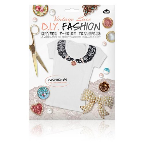 Worldwide Brands DIY Fashion - Glitter T-shirt Transfers Vintage Lace at Sears.com