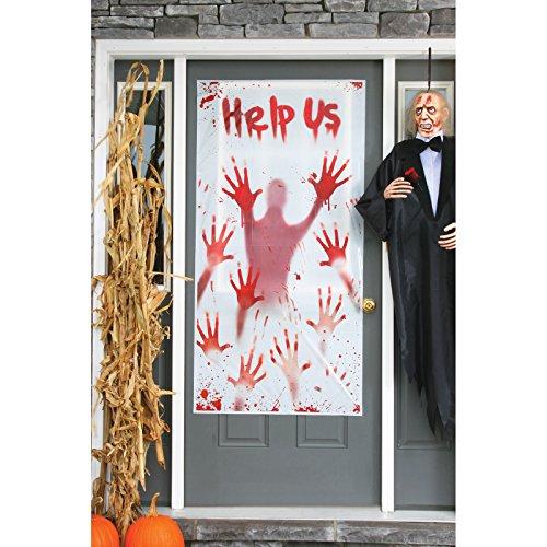 Zombie Door Cover Help Me