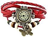 Koko Dial Women Watch (butterfly_red)