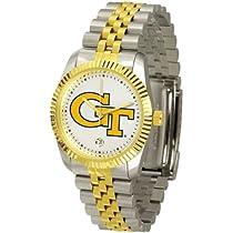 "Georgia Tech Yellowjackets NCAA ""Executive"" Mens Watch"