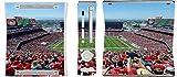 49ers Stadium Xbox 360 Vinyl Decal Sticker Skin By Compass Litho