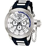 Invicta Signature II Russian Diver Silver Dial Chronograph Mens Watch 7421