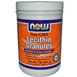 Now Foods Lecithin Granules Non-GMO 1 Pound