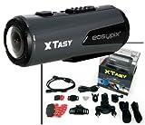 Action-Kamera EASYPIX 'XTasy Full HD', 170° Weitwinkel, 10m wasserfest,USB,HDMI