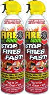 Fire Gone 2NBFG2704 WhiteRed Fire Extinguisher  16 oz. Pack of 2