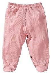 Babysoy Footie Pants - Petal-6-12 Months