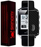 Skinomi® TechSkin - MetaWatch Frame Screen Protector + Carbon Fiber Full Body Skin / Front & Back Premium HD Clear Film / Ultra Invisible and Anti Bubble Shield with Free Lifetime Replacement