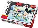 Trefl 17145 Puzzle Classique Mickey Et Minnie Mouse 60 Pièces