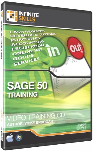 Infinite Skills Sage Line 50 Tutorial - Video Training DVD-ROM (PC/Mac)