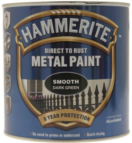 hammerite-peinture-sfdg25l-direct-a-la-rouille-finition-lisse-vert-fonce