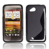 Bluetrade S Type TPU Case for HTC Desire C - Black