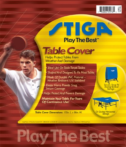 Review Stiga T0801 Table Tennis Table Cover