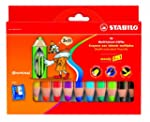 STABILO woody 3 in 1 10er Etui mit Sp...