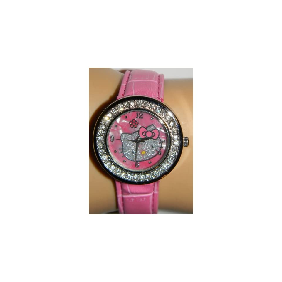 Miss Peggy Jos   Hello Kittys ya301 Quartz Movement Watch**comes with a Hello Kitty Necklace***2 3 Days From Order to Your Door***