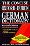 Concise Oxford Duden German Dictionar...