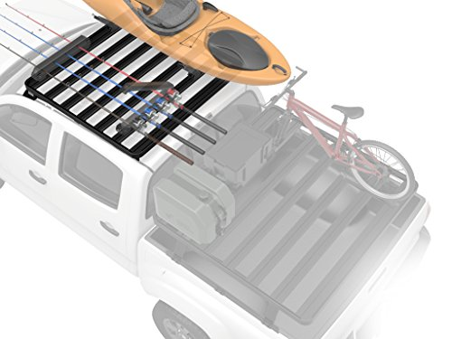 Toyota Tacoma Double Cab Roof Rack / Full Size Aluminum Off-Road Slimline II Cargo Carrier - by Front Runner (Front Runner Slimline Roof Rack compare prices)