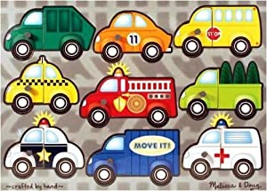 Vehicles Mix N Match Puzzle