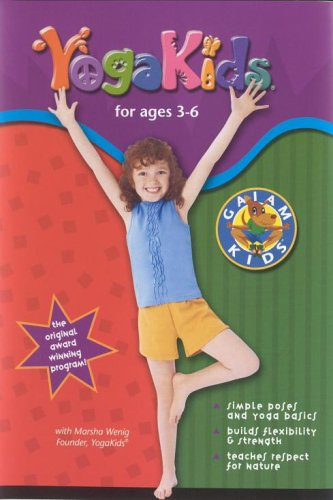 Yoga Kids For Ages 3-6 [DVD]