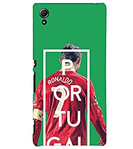 PRINTSHOPPII RONALDO FANS Back Case Cover for Sony Xperia Z4 Mini::Sony Xperia Z4 Compact