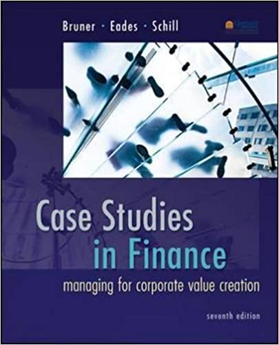 Case Studies In Finance - Book Report