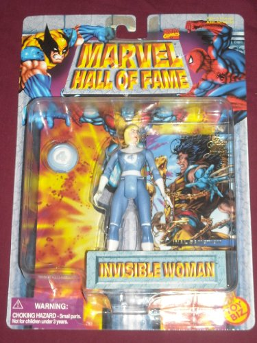 Invisible Woman Marvel Hall of Fame Vintage Toy Biz Action Figure Fantastic Four - 1
