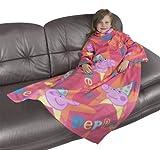 Peppa Pig Funfair Sleeved Fleece Blanket