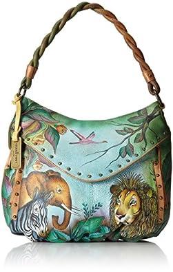 Anuschka 513 Shoulder Bag,African Adventure,One Size