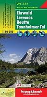 Carte de randonnée : Ehrwald, Lermoos, Reutte, Tannheimer Tal