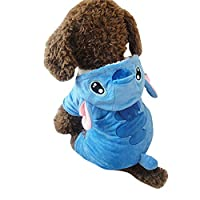 Speedy Pet Dog Clothes Cat Apparel Adorable Costume Double Layer Soft Wool Fabric and Fleece Multi Sizes