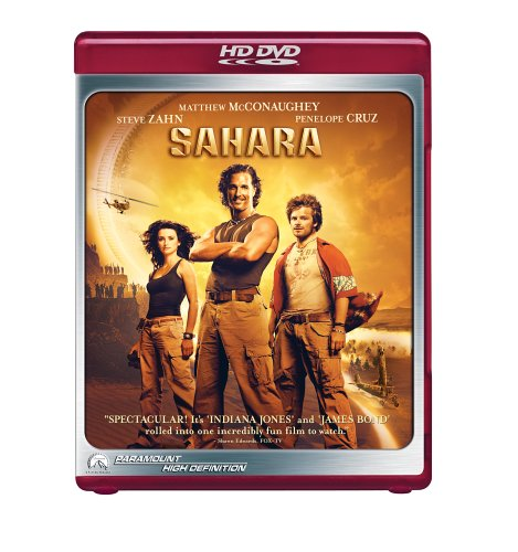 Sahara [HD DVD] [2005] [US Import]
