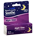 Bausch & Lomb Soothe Eye Ointment, Lubricant, Night Time .125 Oz