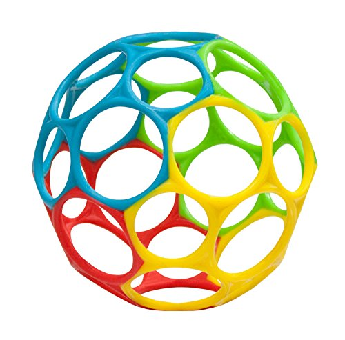 Oball Toy Ball, Rainbow - 1