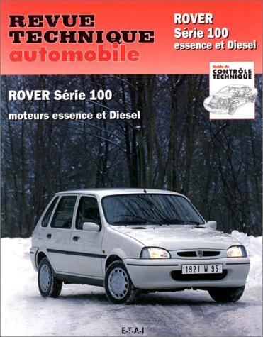 revue technique automobile rover serie 100 essence et diesel. Black Bedroom Furniture Sets. Home Design Ideas