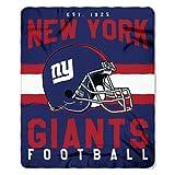 NFL New York Giants Singular 50-inch by 60-inch Printed Fleece Throw