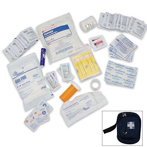 Élite Camping First Aid Kit/Blue w/ceinture