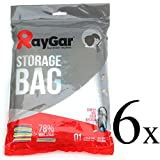 RayGar® 6 VACUUM COMPRESSED STORAGE SAVING SPACE BAGS 100 X 80 CM Clothing, Duvets, Bedding, Pillows, Curtains