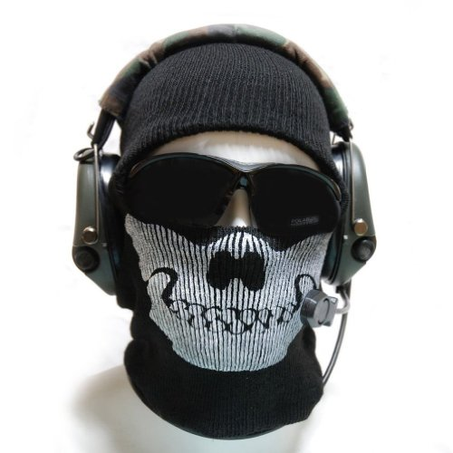 Aovei Skull Face Mask Balaclava One Size Fits Most