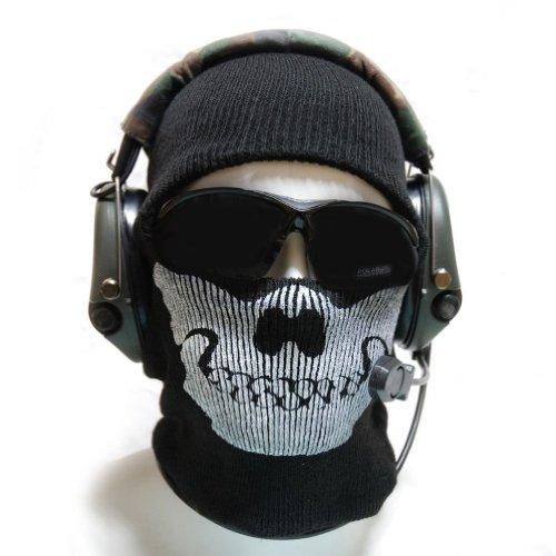 Aovei Skull Face Mask Balaclava One Size Fits Most