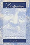 img - for The Politics of Distinction: Whitman and the Discourses of Nineteenth-Century America book / textbook / text book