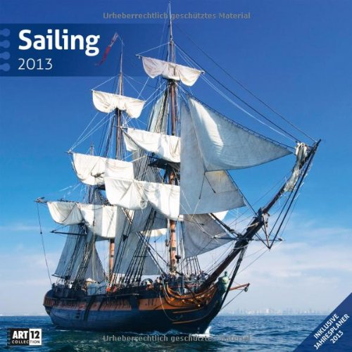 Sailing 2013 Art13 Collection: Broschürenkalender