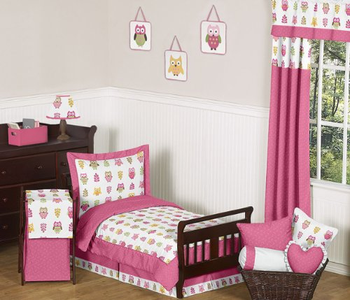 Green And Yellow Baby Bedding