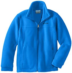 Columbia Big Boys\' Steens MT II Fleece Jacket, Hyper Blue, Medium