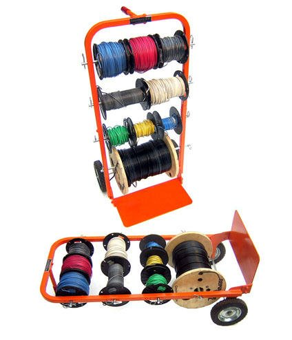 Cheap Price On Electrical Wire Spool Holder Upright Hand Cart ...