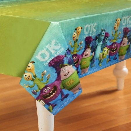 Monsters University Inc. Plastic Tablecover (1ct) (Monsters Inc Birthday Decorations compare prices)