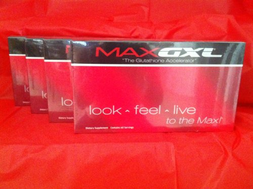 Max GXL 4 Month Supply SEALED - FREE Shipping