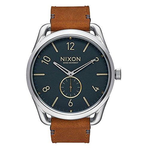 nixon-a4652186-00-montre-mixte-quartz-analogique-bracelet-cuir-marron