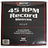 BCW (50) Brand Record White Paper Inner Sleeves